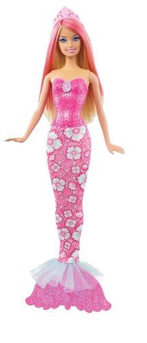 Barbie Fairytale Magic Blonde Mermaid Doll, Pink front-951955