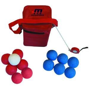 Megaform 12 Ball für Spiele von boccia, rot/blau, Größe M günstig bestellen