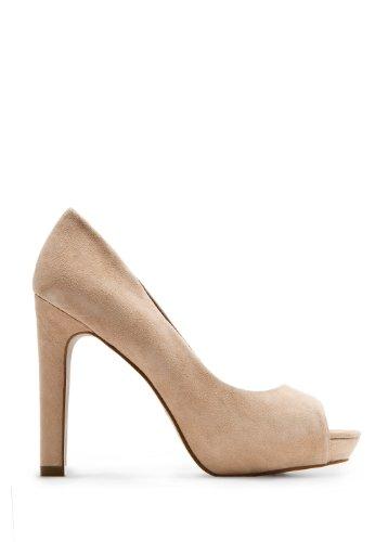 Leather Peep-toe