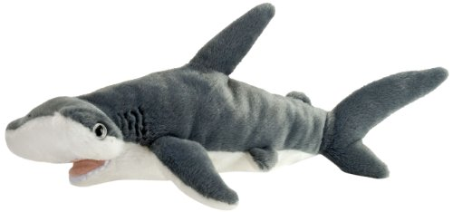 "Wild Republic AQ Shark Hammerhead Adult 10"" Plush"