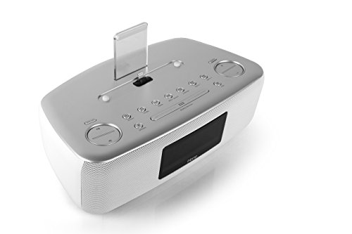 ihome idl44 lightning dock dual clock radio with usb charge play for iphone 5 5s 6 6plus 7. Black Bedroom Furniture Sets. Home Design Ideas