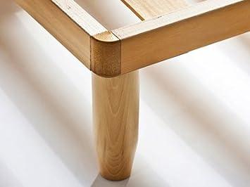 Rete Natural ortopedica in legno - 120x200 cm Baldiflex: Reviews ...