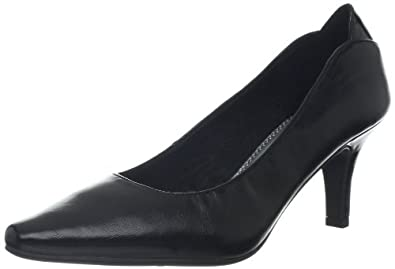 LifeStride Women's Klarissa Pump,Black Tess,5 M US
