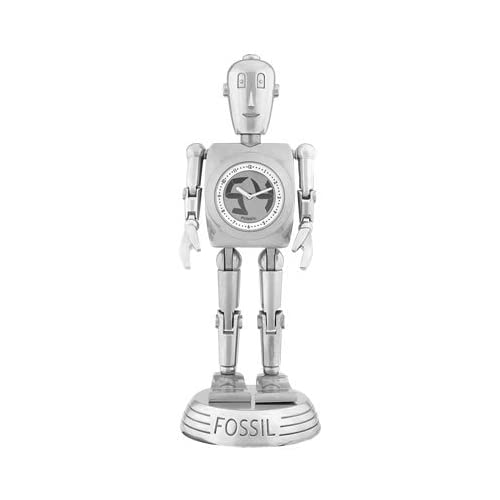 Amazon.com: FOSSIL BIGTIC MAN ROBOT SILVER CLOCK WATCH