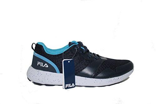 Fila Training Shoes For Men Navy/Sky/White (Navy/Sky/White, 43)