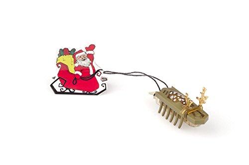 HEXBUG Newton Series Holiday Nano Reindeer Pull Santa's Sleigh (Brown) - 1
