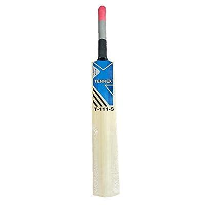 Tennex T-111 S Kashmir Willow Cricket  Bat (Short Handle, 1100 - 1300 g)