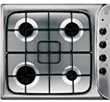 Indesit - PIM 640 AS (IX) - 60cm Gas Hob Stainless Steel - Stainless Steel