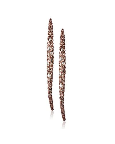 Alexis Bittar Encrusted Spear Infinity Earrings
