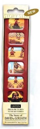 Hotline To God David and Goliath Story Stix - Educational Religious Story Bible STIX-DAVGOL