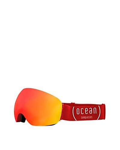 Ocean Máscara de Esquí Arlberg Rojo / Naranja