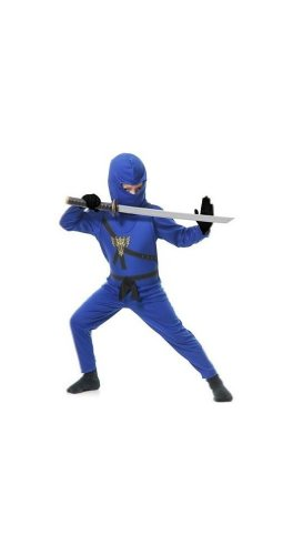 Blue Ninja Avengers Series Ii Toddler/kids Costume