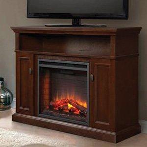 Hearth & Home Ashley Electric Fireplace Media Console in Espresso - ASHLEYC23-ESP
