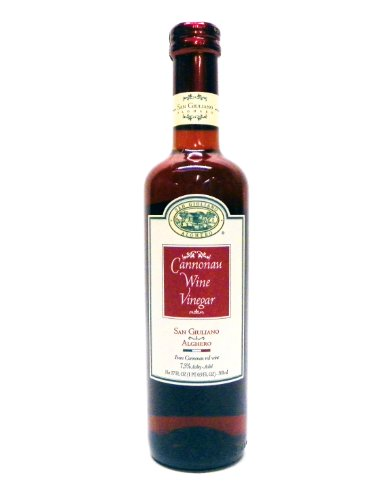 San Giuliano Cannonau Wine Vinegar, 17-Ounce