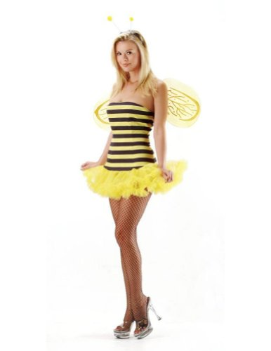 Bee Sexy Sm-Md Adult Womens Costume