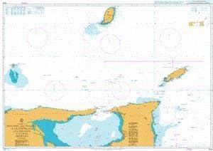 BA Chart 1044 Trinidad and Tobago to Archipielago Los Testigos including Grenada