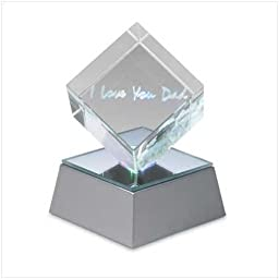 I Love You Dad Lighted Acrylic Cube Fathers Day Gift
