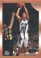 Matt Harpring Orlando Magic 1999 Topps Rookie áAutographed Hand Signed Trading... by Hall+of+Fame+Memorabilia