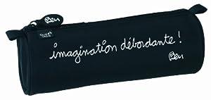 Quo Vadis Trousse Fourre-Tout rond Ben Imagination en toile 23x8cm
