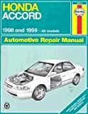 img - for Haynes-Honda Accord 1998-1999 book / textbook / text book