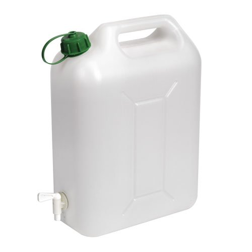 Sealey WC10E Fluid Container with Tap, 10 Liter