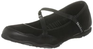 Skechers Women's Jubilee Abbey Mary Jane Black 21855 BBK 3 UK