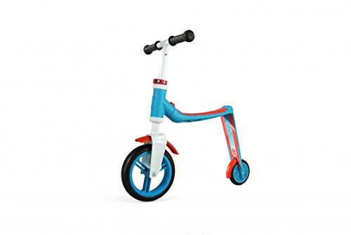 Scoot and Ride 2in1 Highway Baby Ed Eseguire Apprendimento Ciclo (Blu/Rosso)