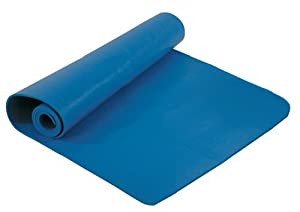 """Bally Total Fitness 1/4"""" Extra Thick Deluxe Yoga and Pilates Mat"""