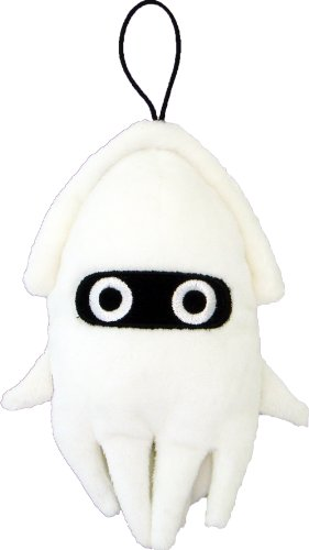 "Official Nintendo Mario Plush Series Stuffed Toy - 6"" Blooper (Japanese Import) - 1"