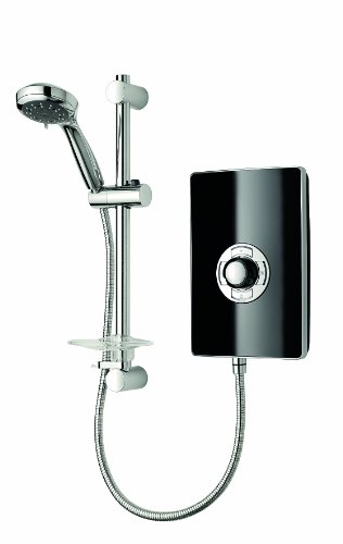 Triton Collection II 9.5kW Electric Shower - Black Gloss