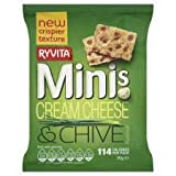 Ryvita Minis Cream Cheese & Chive 30G