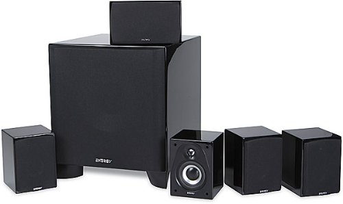 The Electronics World |   Energy RC-Micro 5.1 Surround Speaker System (Black) :  system black rcmicro surround