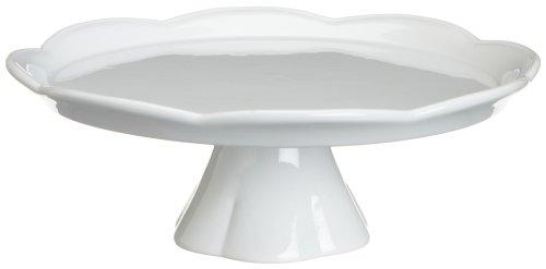 Rosanna Large 12-Inch Pedestal, White