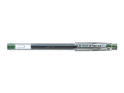 Pilot NG4VE - Bolígrafo, 12 unidades, color verde