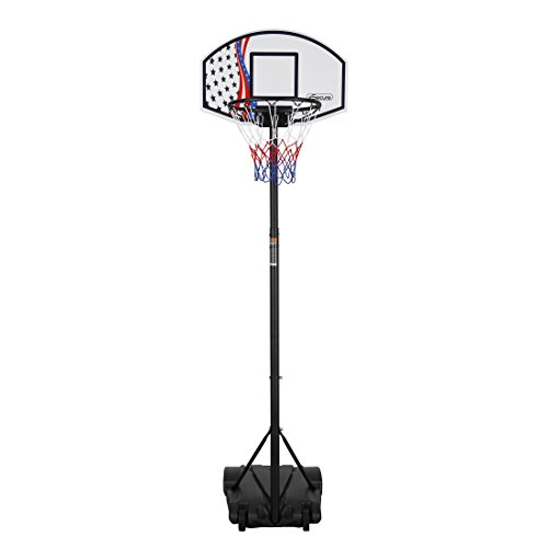 esecure-free-standing-fully-adjustable-portable-basketball-stand-hoop-set-165-205cm
