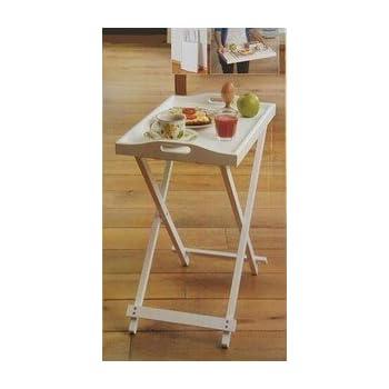 Pas cher grand plateau en bois sur pieds treteaux pour - Plateau en bois pour table ...