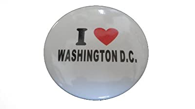 I love Washington DC souvenir pin 2 pcs