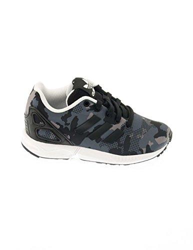 Scarpe adidas - Zx Flux C nero/nero/bianco formato: 34