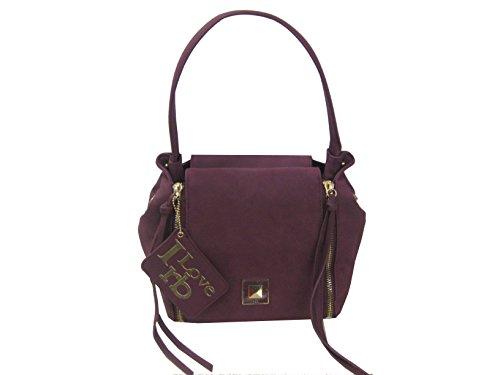 borsa rb roccobarocco colore prugna 26x23x18