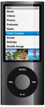 iPod nano 8 Go noir (5G) - Caméra Vidéo - Radio FM - NEW