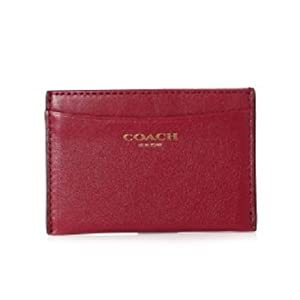 Amazoncom coach legacy leather business credit card for Business card holder coach