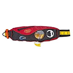 Mti Race 1 Belt Pack Inflatable Life Vest Red by MTI