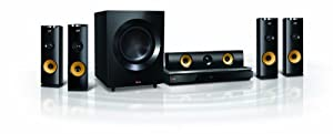 LG BH9230BW 1460W Blu-ray Home Theater System with Wireless Rear Speakers, 3D Sound, Smart TV