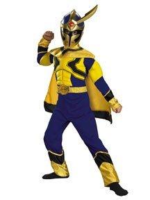 Power Rangers Mystic Force Child Costume 4-6 (Power Rangers Gold Ranger Costume)