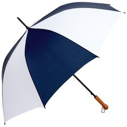 Imagen de All-Weather Elite Series 60 pulgadas Marina y White Umbrella Auto Open Golf