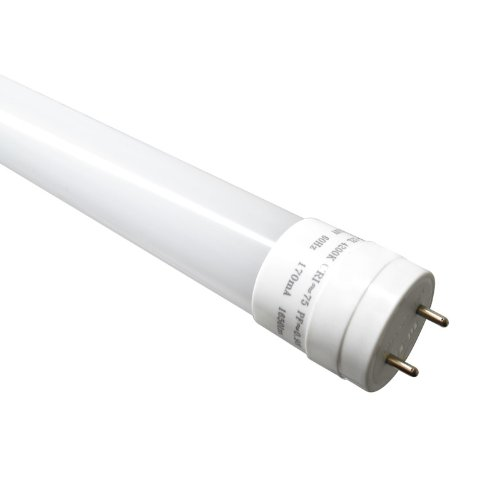 Lightkiwi T8 Led Tube Light 18W 4Ft Pure White Replacement With Fluorescent Tube