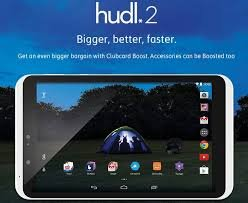 """TESCO HUDL 2 8.3"""" SCREEN ANDROID TABLET (white)"""