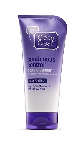 Clean & Clear Continuous Control Acne Cleanser,  5 oz  (141g)