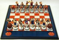 Basketball Chess Set - Buy Basketball Chess Set - Purchase Basketball Chess Set (Wood Expressions, Inc., Toys & Games,Categories,Games,Board Games,Checkers Chess & Backgammon)
