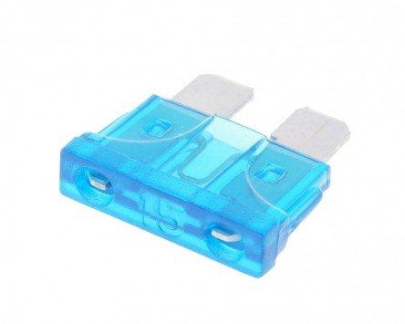 Sicherung Flachstecksicherung 19,2mm 15A blau